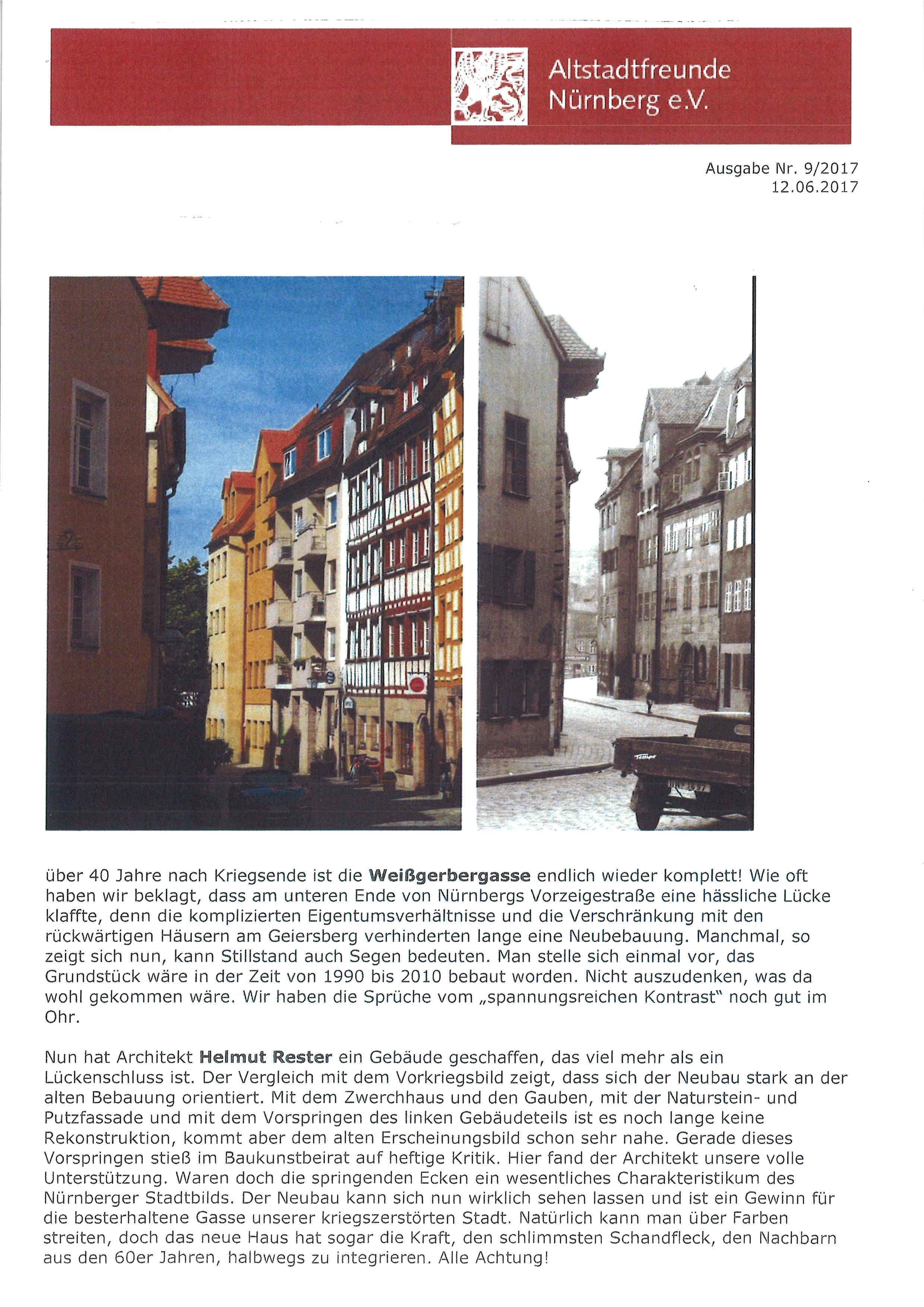 Altstadtfreunde Nürnberg e.V.